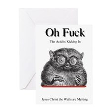 OH FUCK Greeting Card