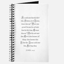 JOHN 21:17 Journal