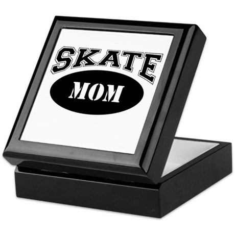 Skate Mom Keepsake Box