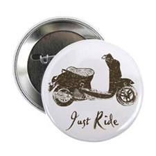 """Just Scoot 2.25"""" Button (100 pack)"""