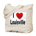 I Love Louisville Kentucky Tote Bag