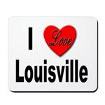 I Love Louisville Kentucky Mousepad