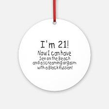 21 Ornament (Round)