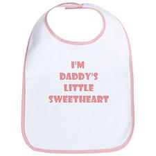 Daddy's Sweetheart Bib