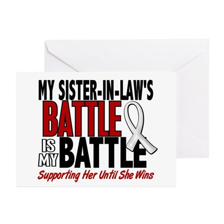 My Battle Too 1 PEARL WHITE (Sister-In-Law) Greeti