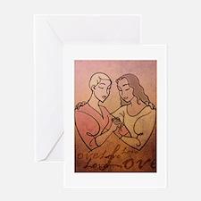 Lesbian Valentine Love Greeting Card