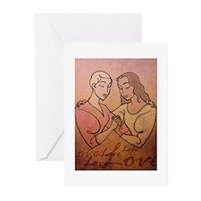 Lesbian Valentine Love Greeting Cards (20 pack)