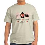 Peace Love Cruise Light T-Shirt