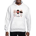 Peace Love Cruise Hooded Sweatshirt