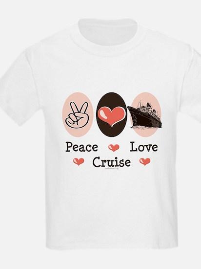 Peace Love Cruise T-Shirt