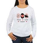 Peace Love Cruise Women's Long Sleeve T-Shirt