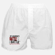My Battle Too 1 PEARL WHITE (Grandma) Boxer Shorts