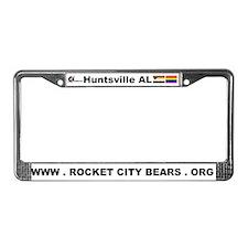 Funny Alabama logo License Plate Frame