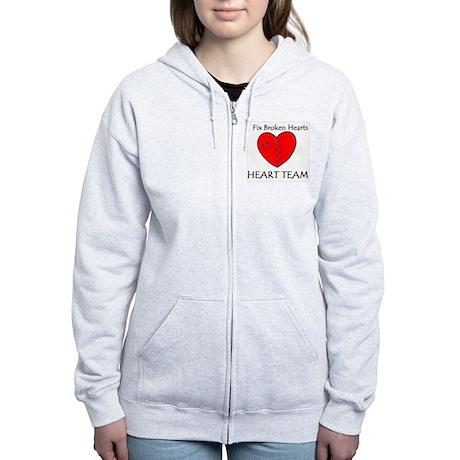 Heart Team Women's Zip Hoodie