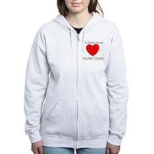 Heart Team Zip Hoodie