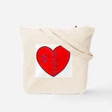 Heart Team Tote Bag