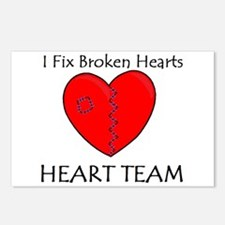 Heart Team Postcards (Package of 8)