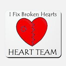Heart Team Mousepad