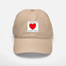 Heart Team Baseball Baseball Cap