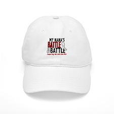 My Battle Too 1 PEARL WHITE (Nana) Baseball Cap