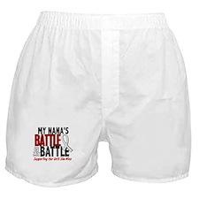 My Battle Too 1 PEARL WHITE (Nana) Boxer Shorts