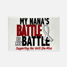 My Battle Too 1 PEARL WHITE (Nana) Rectangle Magne