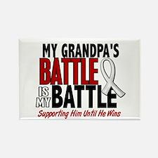 My Battle Too 1 PEARL WHITE (Grandpa) Rectangle Ma