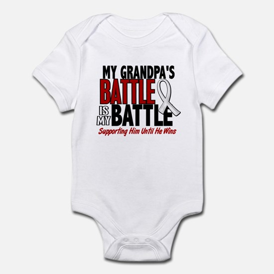 My Battle Too 1 PEARL WHITE (Grandpa) Infant Bodys