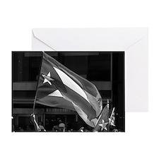"""""""La Bandera"""" Greeting Card"""