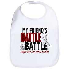 My Battle Too 1 PEARL WHITE (Friend Female) Bib
