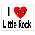 I Love Little Rock Arkansas Small Poster