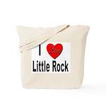 I Love Little Rock Arkansas Tote Bag