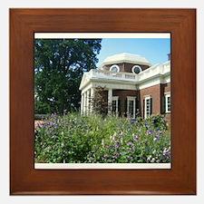 Monticello, Virginia Framed Tile