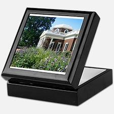 Monticello, Virginia Keepsake Box