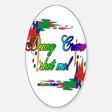 DENNYPAINT2 Oval Bumper Stickers