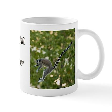 Lemur Jump Mug