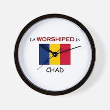 I'm Worshiped In CHAD Wall Clock