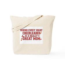 Cute Cheerleader Tote Bag