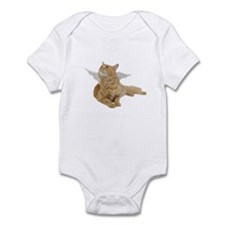 Orange Angel Cat Infant Bodysuit
