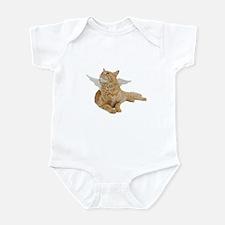 Orange Angel Cat Infant Bodysuit