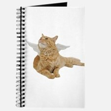 Orange Angel Cat Journal