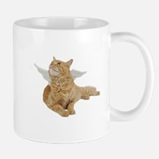 Orange Angel Cat Mug
