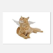 Orange Angel Cat Postcards (Package of 8)