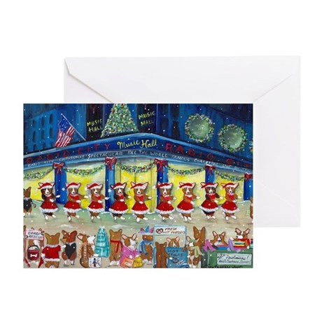 A Christmas Corgi Spectacular Greeting Cards (Pack