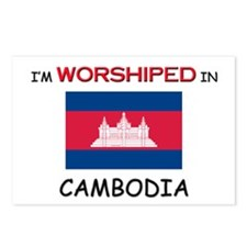 I'm Worshiped In CAMBODIA Postcards (Package of 8)