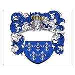 Holl Family Crest Small Poster