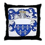 Holl Family Crest Throw Pillow