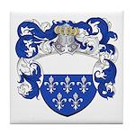 Holl Family Crest Tile Coaster
