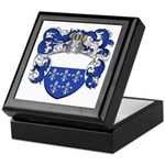 Holl Family Crest Keepsake Box