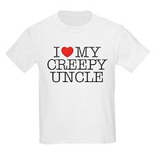 I Love My Creepy Uncle T-Shirt